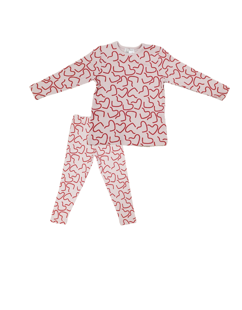 Lux Lux Infant Hearts  Pajama