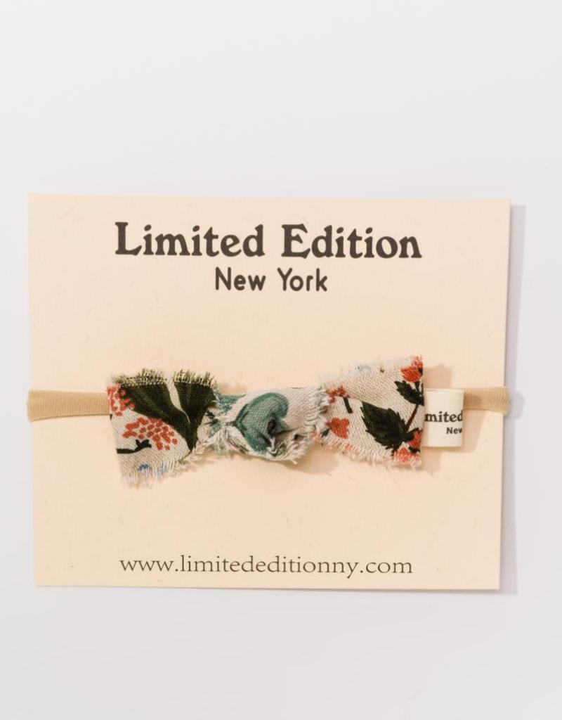 Limited Edition Limited Edition NY Baby Canvas Headband
