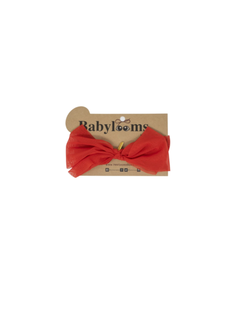 Heirlooms Heirlooms Stretch Net Bow Mini Band