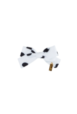 Heirlooms Heirlooms Cotton Heartsy Mini Bow Clip
