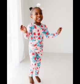 Posh Peanut Posh Peanut Strawberry Long Sleeve Basic Pajama