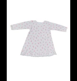 Lyda Lyda Butterfly Print Gown
