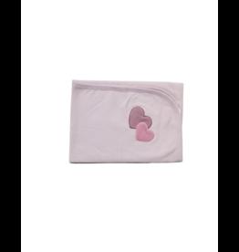 Coton PomPom Coton Pompom Two Heart Design Blanket
