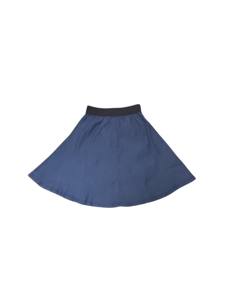 FYI FYI Canvas Flare Denim Skirt