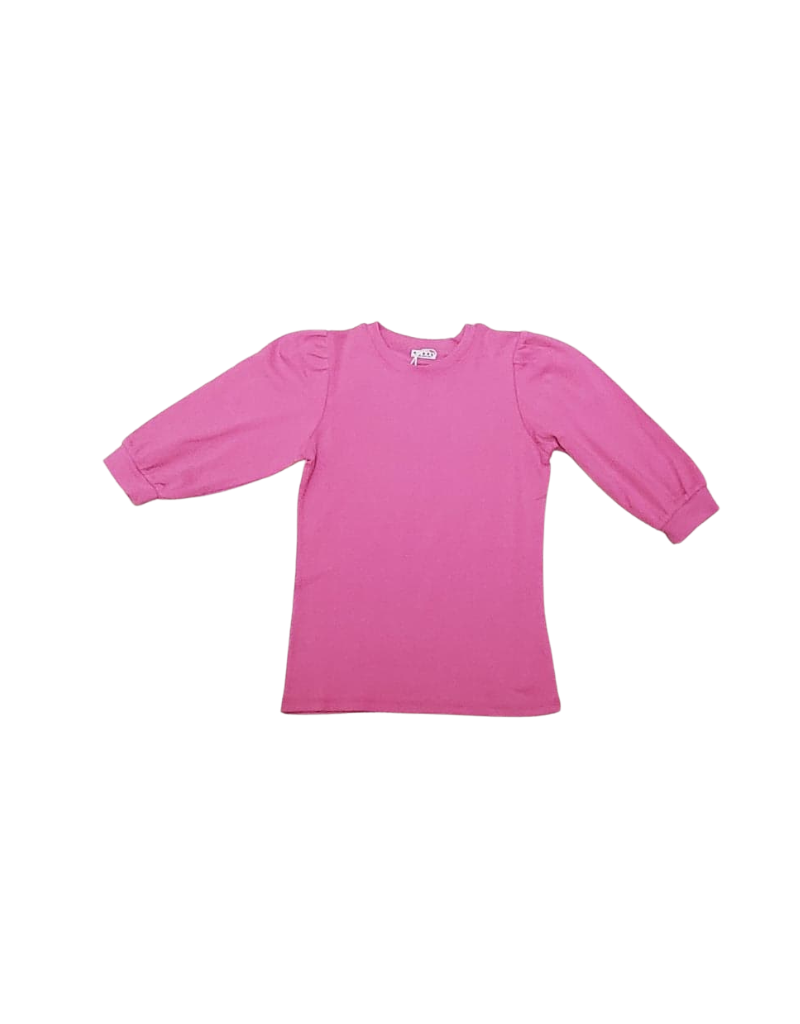 Five Stars Five Star Girl Top with Puff Sleeve