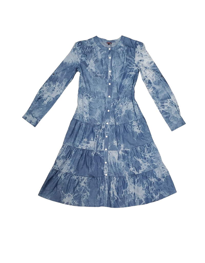Five Stars Five Stars  Dress with Roll -On Sleeves