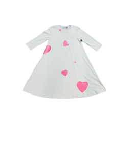 Small Moments Small Moments Girl Heart Printed Dress