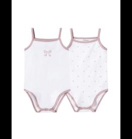 Petit Clair Petit Clair Bow/Polka Dot Baby Bodysuit Set PCI-BDS2-SET21