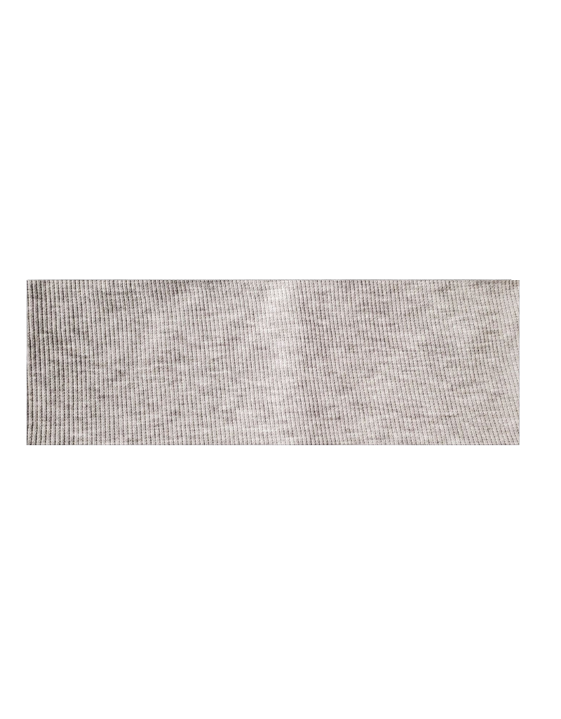 DaCee Dacee Solid Ribbed Cotton Headwrap