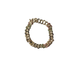 Jeweliette Jewels Jeweliette Multicolor Link Bracelet