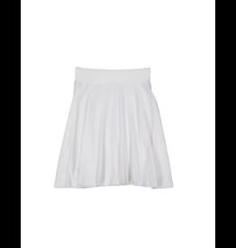 Teela Teela Basic Knit Circle Skirt-Top Stitch