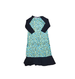 Try Try Girl Animal Print Swim Dress