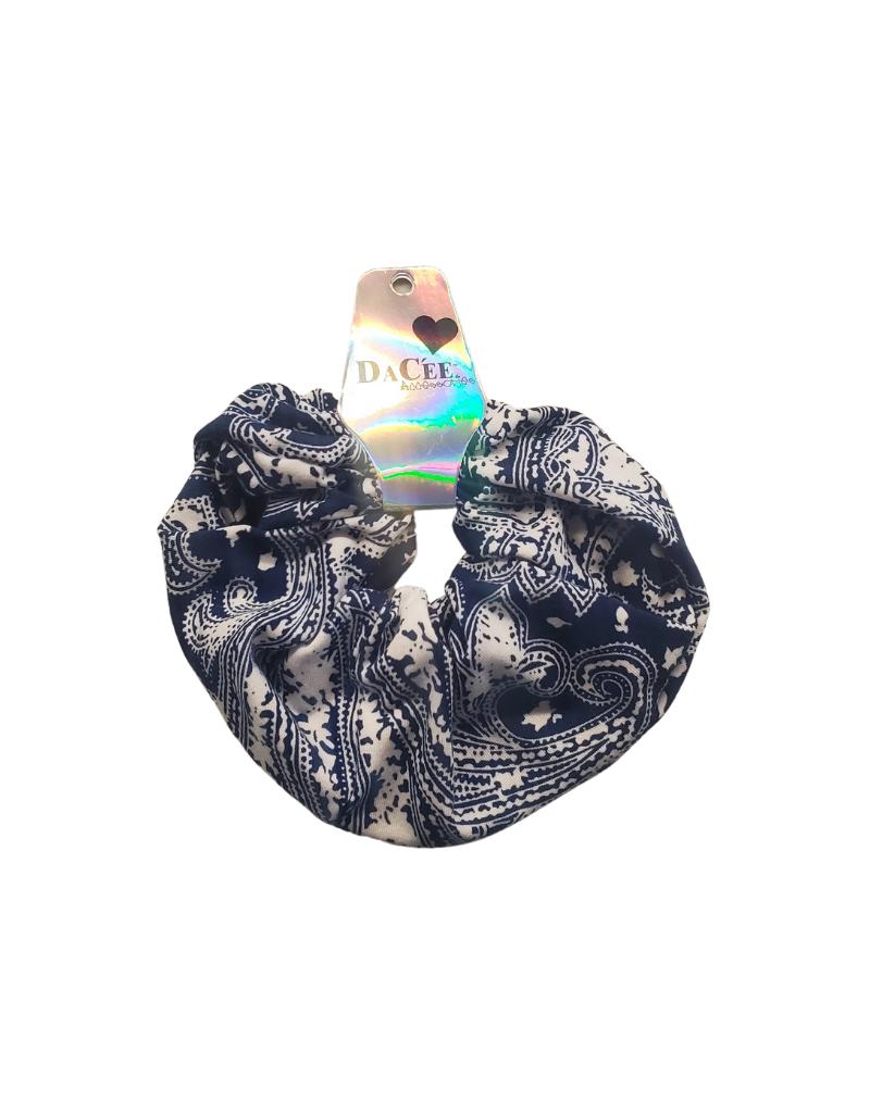 DaCee Bandana Printed Scrunchy