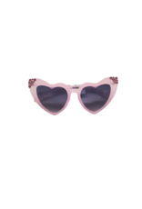 Bari Lynn Bari Lynn Mini Crystallized Heart Sunglasses