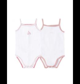Petit Clair Petit Clair Cherry/Bebe Bodysuit PCI-BDS2-SET16