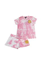 flowers by zoe Flowers By Zoe Infant Pink Tie Dye Set