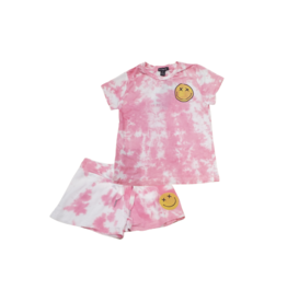 flowers by zoe Flowers By Zoe Infant Pink Tie Dye Set