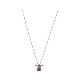 Jeweliette Jewels Jeweliette Diamond Girl Pendant on Chain