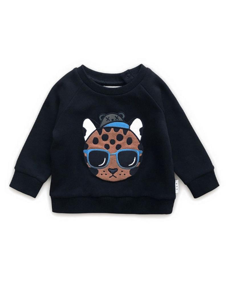 Huxbaby Huxbabay Cool Ocelot Sweatshirt