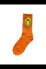 Malibu Sugar Malibu Sugar Solid Color Smiley Sock