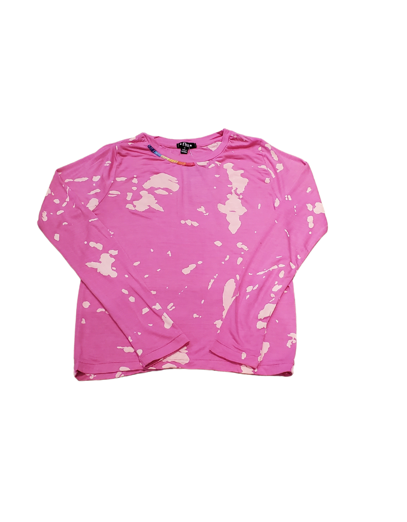 flowers by zoe Flowers By Zoe Animal Print Long Sleeve T-Shirt