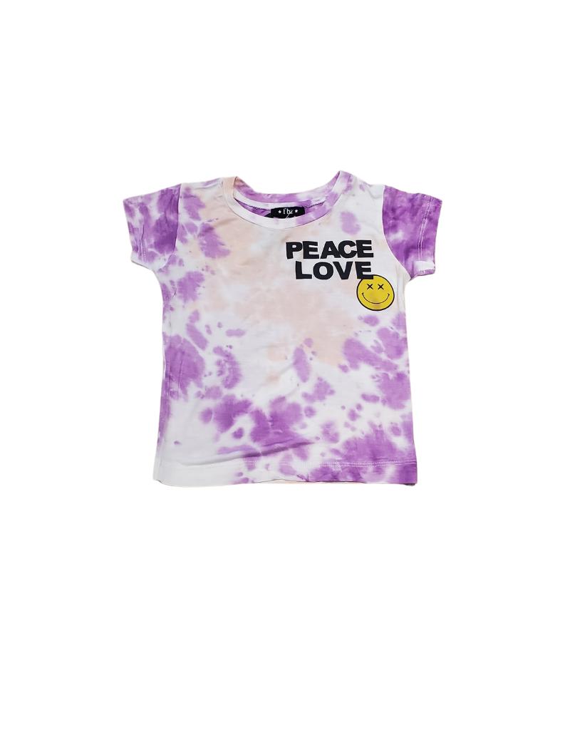 flowers by zoe Flowers By Zoe Peace Love Tie Dye Top