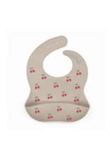 Snuggle Baby Snuggle Baby Silicone Bib with Cherry