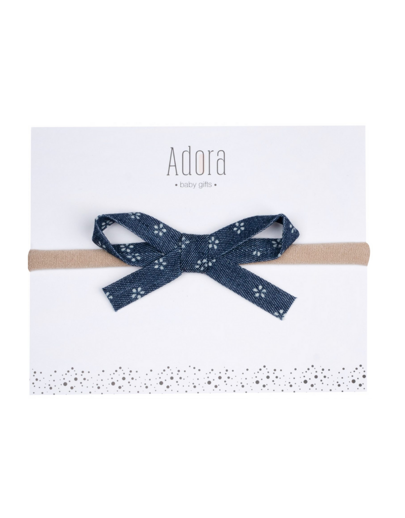 Adora Adora Mini Ribbon Bow Headband
