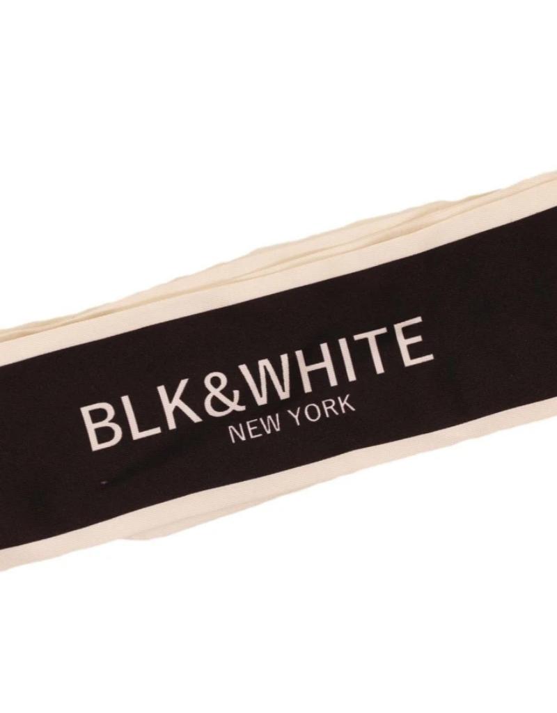 Blk&WhiteNY Blk&WhiteNY Satin Ribbon