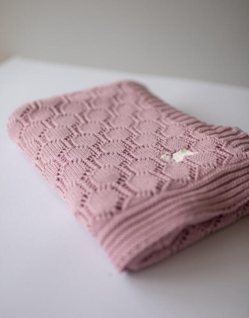 Petite Laure Petite Laure Baby Blanket Openwork
