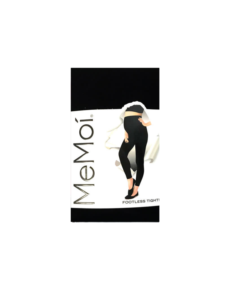 Memoi Memoi Maternity Completely Opaque Footless Tights MA-343