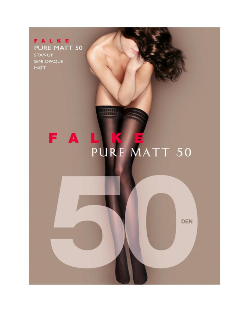 FALKE FALKE Pure Matt 50D Stay-Up - 41551