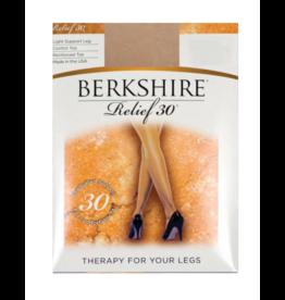 Berkshire Berkshire Relief 30D Light Support CT Reinforced Toe Pantyhose - 8101
