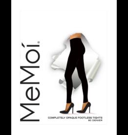 Memoi Memoi Completely Opaque CT Footless Tights - MO-343