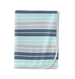 Kickee Pants Kickee Pants Stripe Blanket