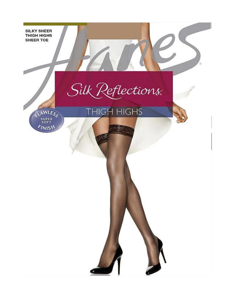 Hanes Hanes Silk Reflections Sheer Thigh Highs - 720