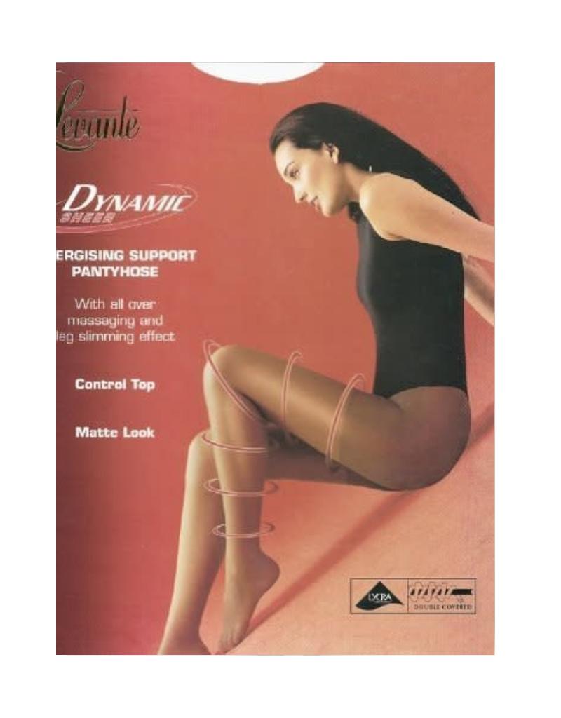 Levante Levante Dynamic Sheer CT Sheer Toe Pantyhose