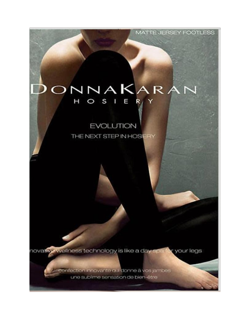 Donna Karan Donna Karan Matte Jersey Footless Tights - DOC322