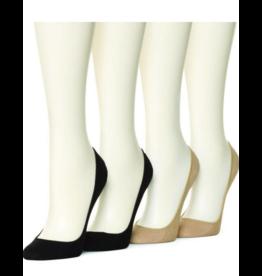 Hue Hue Hidden Cotton Liner 4-Pack - U12959