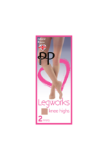 Pretty Polly Pretty Polly Legworks 2 Pair Knee Highs