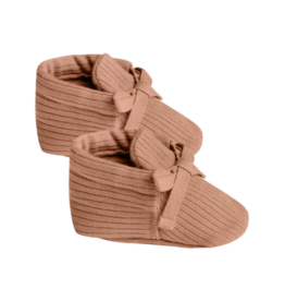 Quincy Mae Quincy Mae Ribbed Baby Bootie