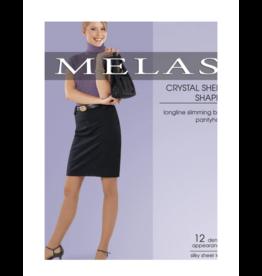 Melas Melas Sheer Shaper 12 D Pantyhose - AS-611