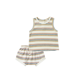 Quincy Mae Quincy Mae Terry Stripe Set