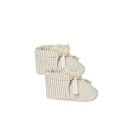 Quincy Mae Quincy Mae Ribbed Baby Stripe Bootie
