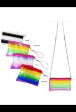 Bari Lynn Bari Lynn Translucent Stripe Bags