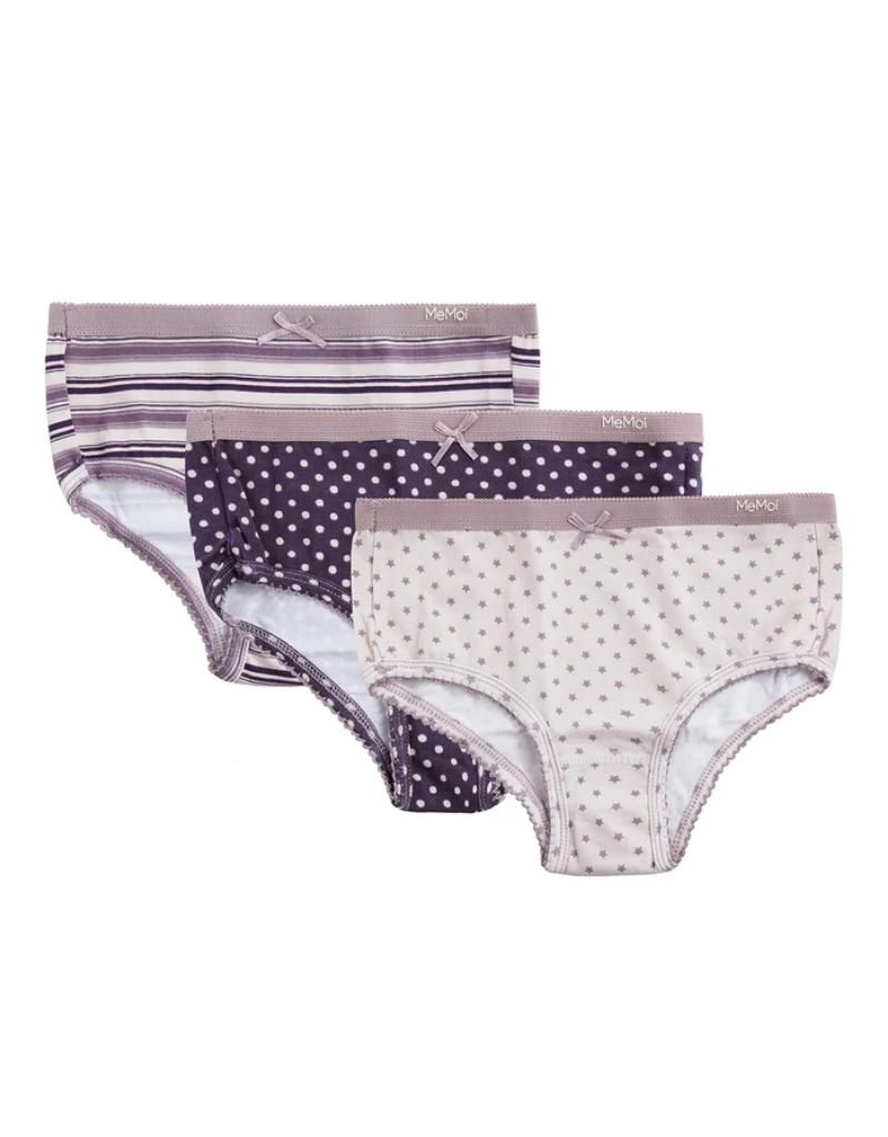 Memoi Memoi Girl Panty 3 Pair Pack MKU1004