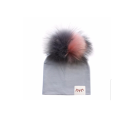 Winx + Blinx Winx and Blinx Cotton Hat with Detachable Pompom