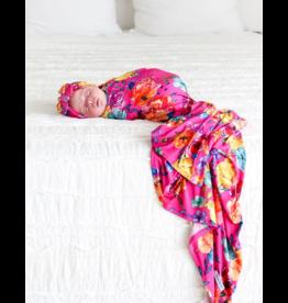 Posh Peanut Posh Peanut Aminatu Infant Swaddle and Headwrap Set