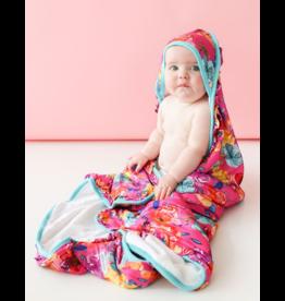 Posh Peanut Posh Peanut Aminatu Ruffled Hooded  Towel