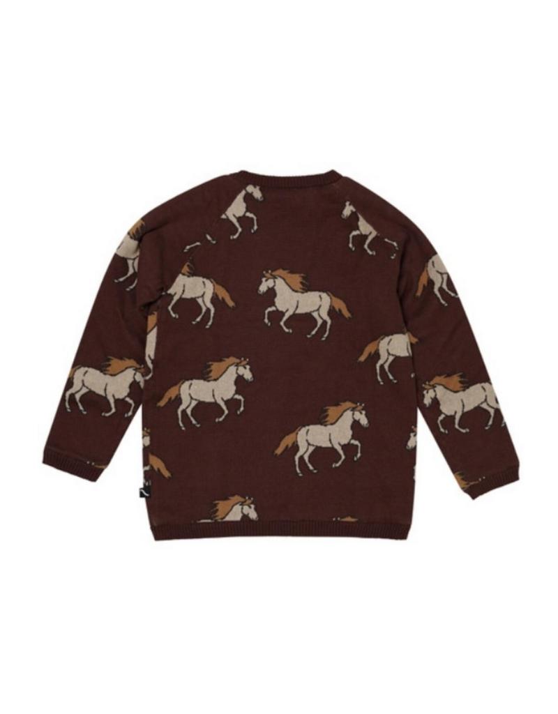 Carlijnq Carlijnq Wild Horse knitted Cardigan